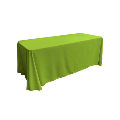 Lime 100% Polyester Rectangular Tablecloth 90