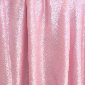 Light Pink Mini Glitz Sequin Mesh Fabric