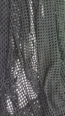 Black Mini Fishnet with Nylon Spandex Fabric
