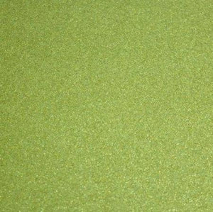 Light Green Glitter Sparkle Metallic Vinyl