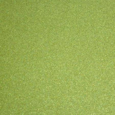 Light Green Glitter Sparkle Metallic Faux Fake Leather Vinyl Fabric / 40 Yards Roll