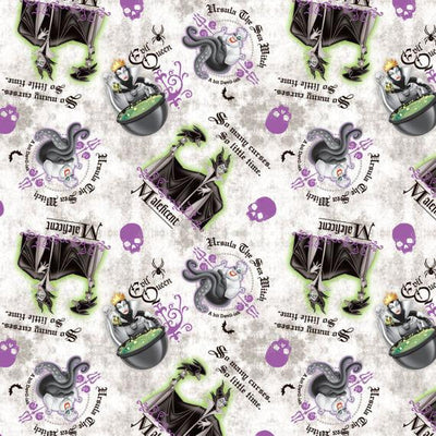 Disney Villains Evil Queen 100% Cotton Fabric