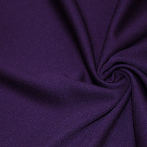 Purple Scuba Double Knit Fabric