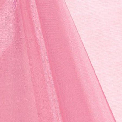 Pink Mirror Crystal Organza Fabric / 100 Yards Roll