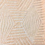 Natural Light Peach Bombshell Stretch Sequin Fabric