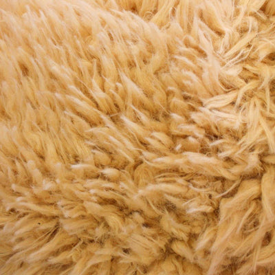 Curly Caramel Faux Fur Fabric