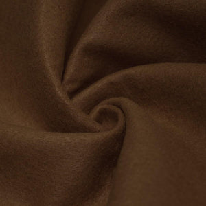 Light Brown solid Acrylic Felt Fabric