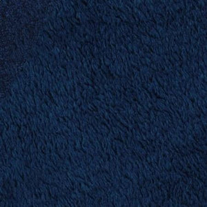 Navy Blue Anti Pill Solid Color Fleece Fabric