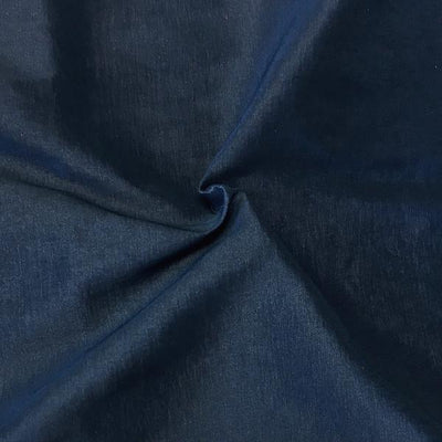 Navy Stretch Taffeta Fabric