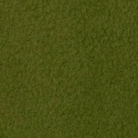 Olive Green Anti Pill  Solid Fleece Fabric