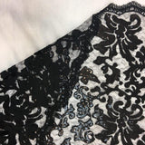 Black Beyonce Lace Fabric - Evening Gown Lace