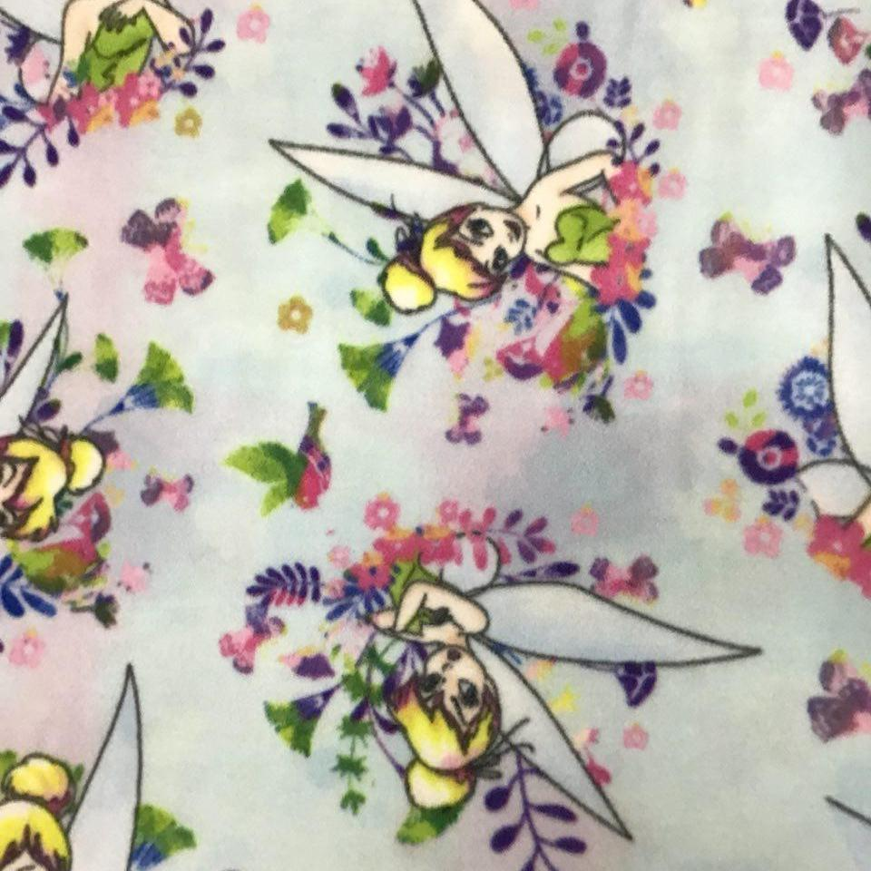 Tinkerbell Disney Anti Pill Fleece Fabric