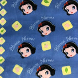 Snow White and the Seven Dwarfs Blanca Fleece Fabric