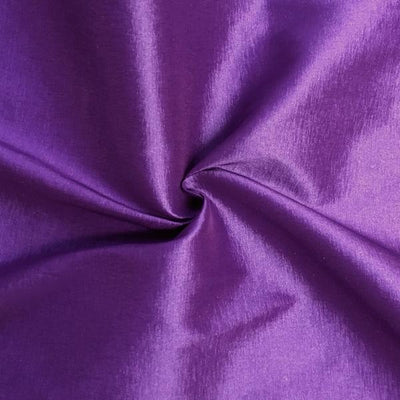 Purple Stretch Taffeta Fabric