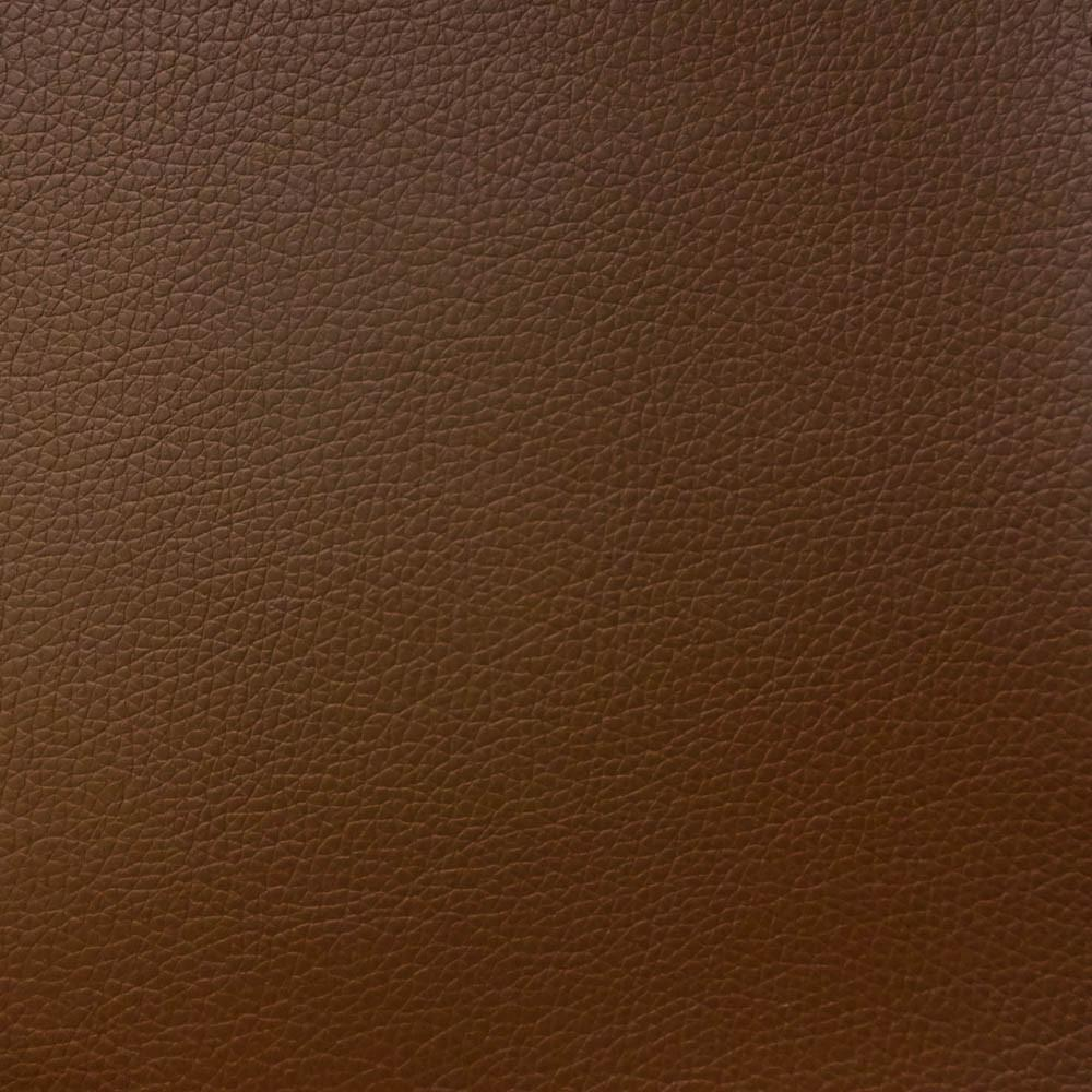 Light Brown 1.2 mm Thickness Soft PVC Faux Leather Vinyl Fabric