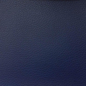 Navy 1.2 mm Thickness Soft PVC Faux Leather Vinyl Fabric
