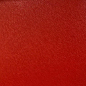 Red 1.2 mm Thickness Soft PVC Faux Leather Vinyl Fabric