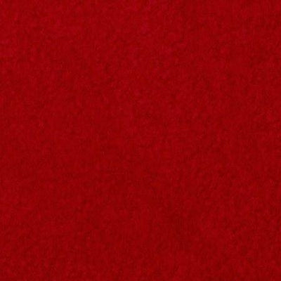 Red Anti Pill Solid Fleece Fabric / 50 Yards Roll