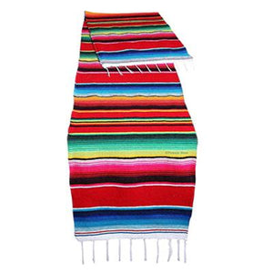 Mexican Serape Blanket Table Runner