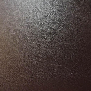 Brown 1.0 mm Thickness Soft PVC Faux Leather Vinyl Fabric