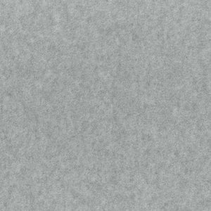 Heather Gray Anti Pill Solid Color Fleece Fabric