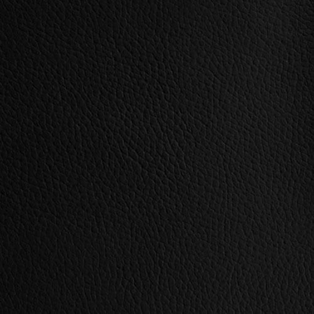 Black 1.2 mm Thickness Textured PVC Faux Leather Vinyl Fabric