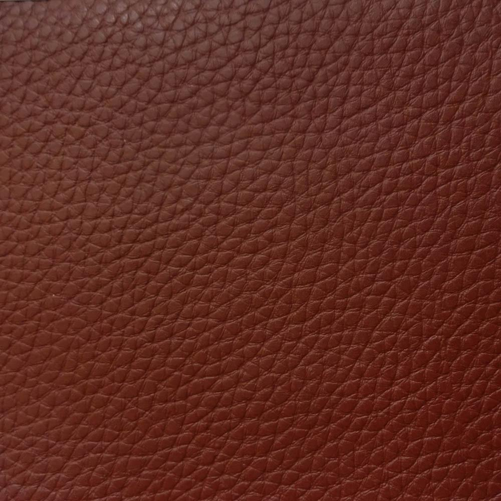 Burgundy 1.2 mm Thickness Textured PVC Faux Leather Vinyl Fabric