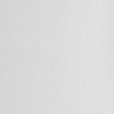 White 1.2 mm Thickness Textured PVC Faux Leather Vinyl Fabric