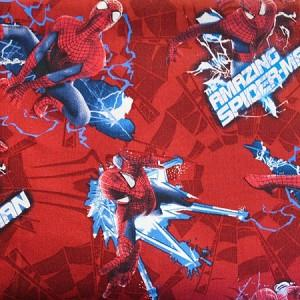 Spiderman Spider Toss 100% Cotton Print Fabric