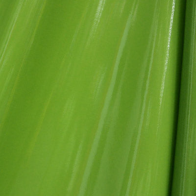 Green 4-Way Glossy Stretch Vinyl Fabric