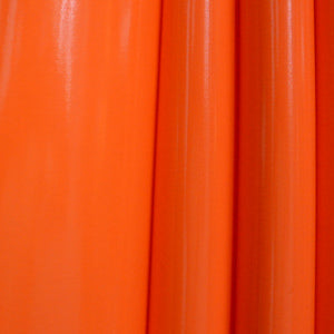 Orange 4-Way Glossy Stretch Vinyl Fabric