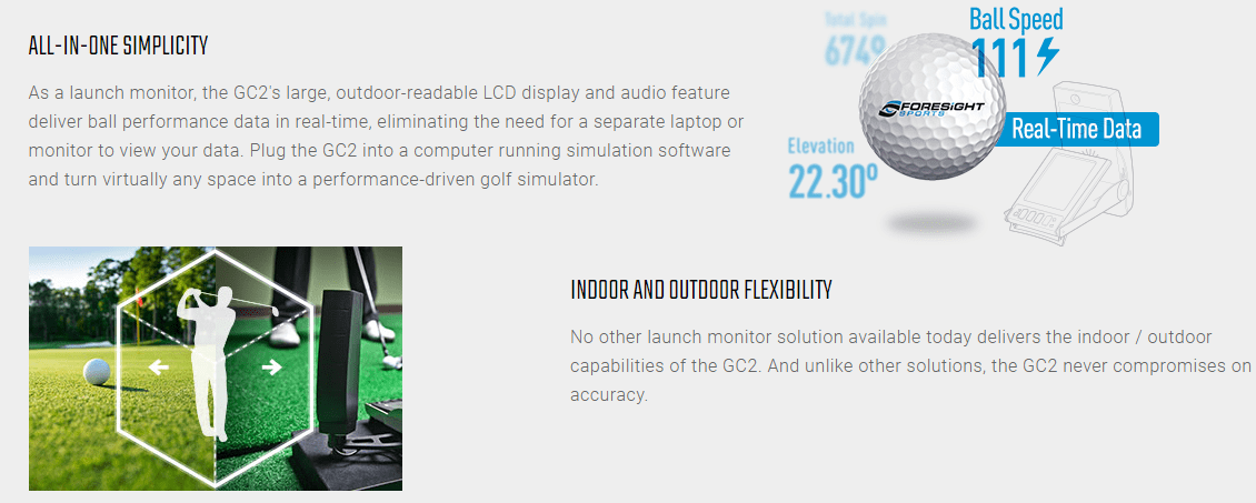 Foresight Sports GC2 Launch Monitor Certified Pre-Owned – Shop