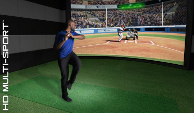 baseball on hd multi sport simulator