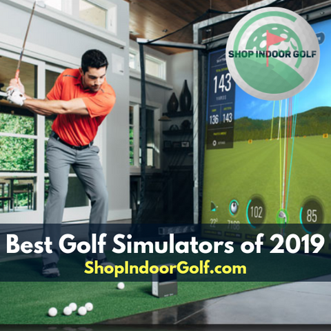 best indoor golf simulators of 2019