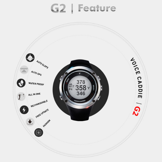 VoiceCaddie G2 Hybrid Golf GPS Watch