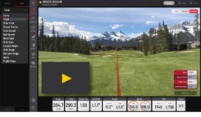 EYE XO View Golf Software