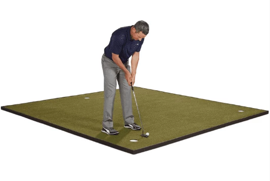Fiberbuilt Golf 10′ x 10′ Indoor Putting and Chipping Green