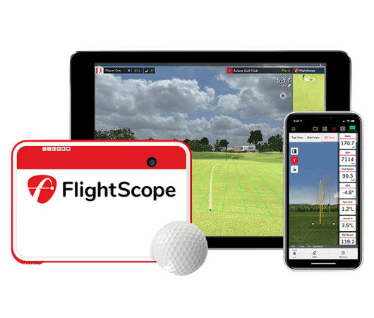 flightscope mevo+ golf launch monitor