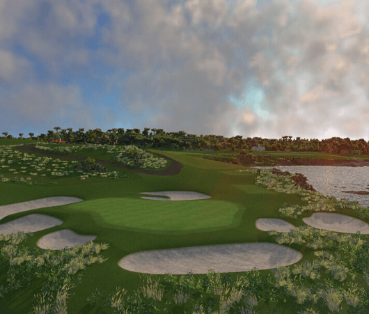 golf course play on fsx 2020
