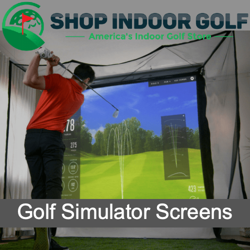 Golf Simulator Screens