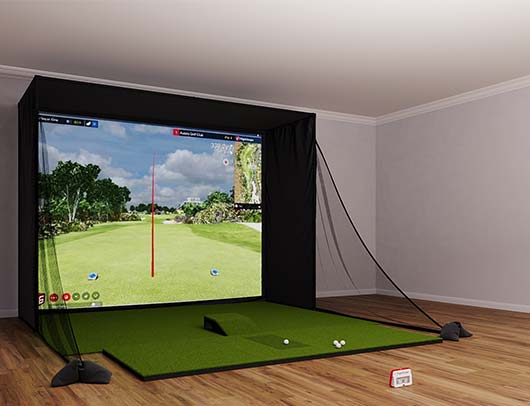 Mevo Plus SIG12 Golf Simulator from Shop Indoor Golf