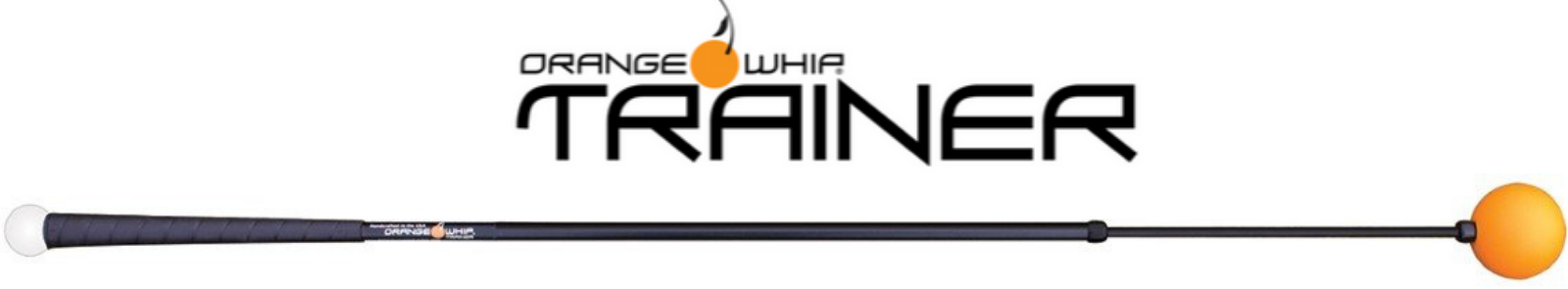 orange whip trainer golf training aid