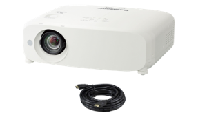 Panasonic PT-VZ580U Projector with HDMI cable