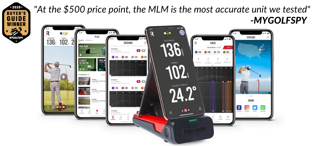 Rapsodo MLM Voted Best Outdoor Launch Monitor by My Golf Spy