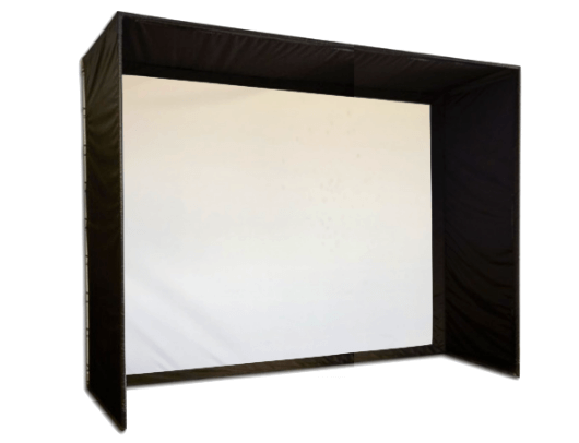 SIG10 Golf Simulator Screen Enclosure by Shop Indoor Golf