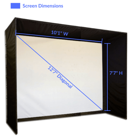 SIG10 simulator screen dimensions