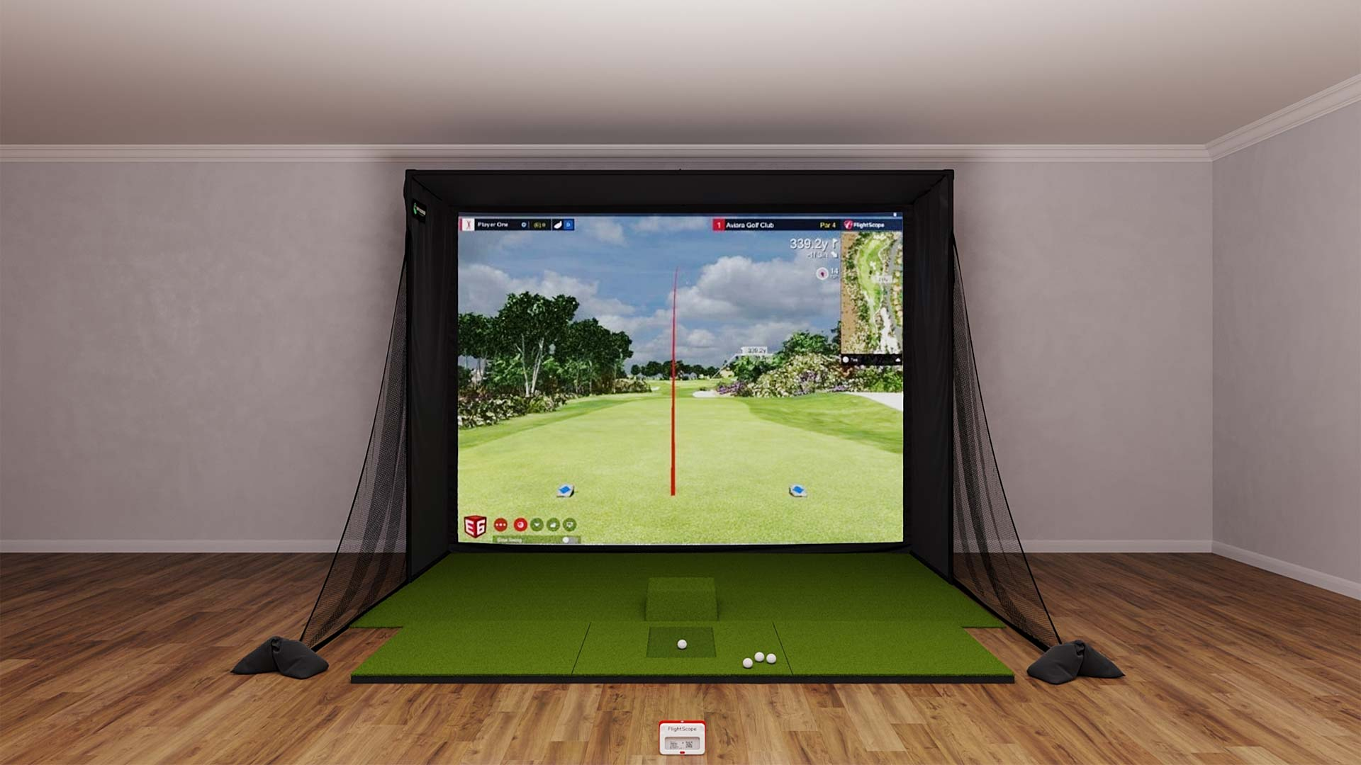 SIG12 Mevo Plus Golf Simulator