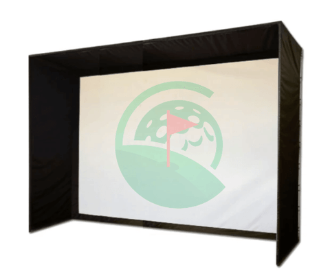 SIG12 Golf Simulator Screen and Enclosure