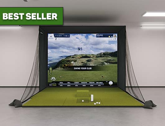 SIG10 SkyTrak Golf Simulator from Shop Indoor Golf