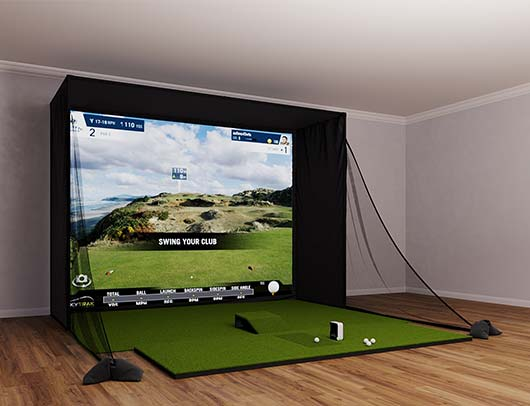 SkyTrak SIG12 Golf Simulator From Shop Indoor Golf